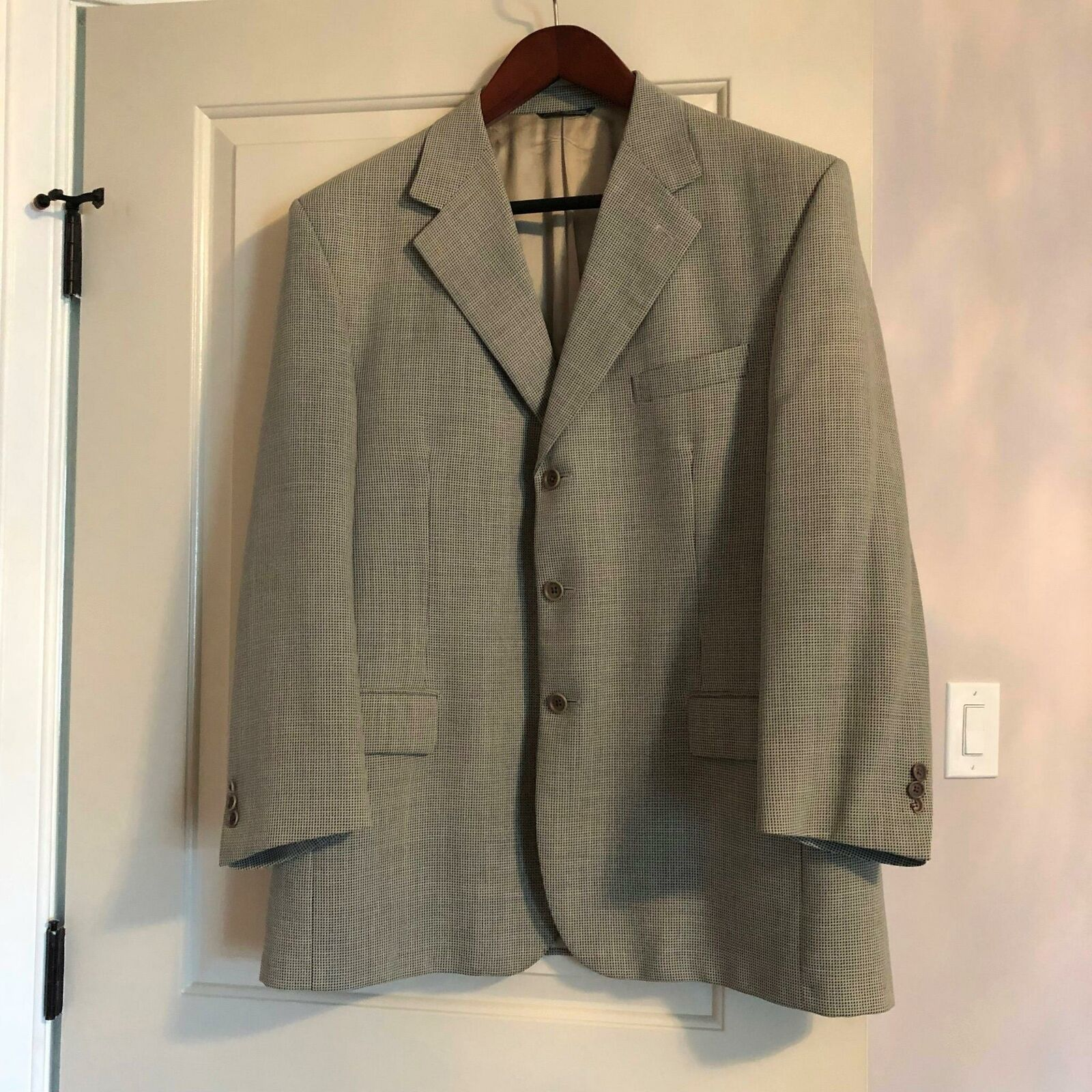 Primary image for EUC NOGARA 1945 Gray Single Breasted Sport Jacket SZ IT 60/US 48