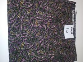 Paisley, Hi Fashion Fabrics, 1 Yd (H2036) - $2.00
