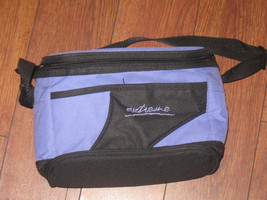 "EXTREME Brand Lunch Bag Cooler  Purple Black 9.2""x 6"" x7"" - $6.99"