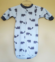 Carter's Just One You Sleep Sack Light Blue Gray Bears 0-9 Months - $8.90