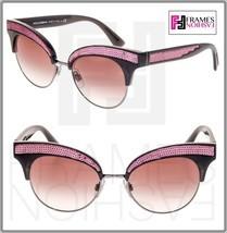 DOLCE & GABBANA 6109 Sequin Black Pink Gradient Cat Eye Sunglass DG6109S... - $178.20