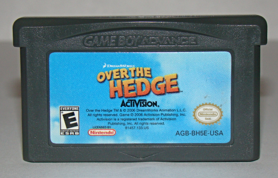 Primary image for Nintendo GAME BOY ADVANCE - OVER THE HEDGE (Game Only)