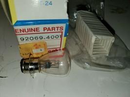 NOS Kawasaki KDX175 KDX200 KDX250 KDX400 92069-4001 Headlight Bulb 6V 35/25W - $16.82
