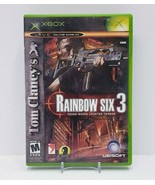 Tom Clancy's Rainbow Six 3 - Microsoft Original Xbox - Complete  - $7.70