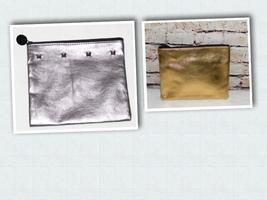 Ipsy MyGlam Bag Street Style Metallic Cosmetic Bag - $4.99