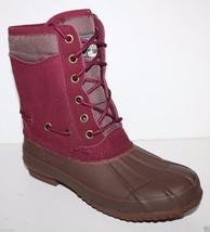 GH Bass NIB Women 6 8 Bernice Suede Leather Waterproof Winter Snow Duck Boots - $107.47