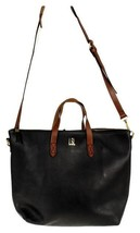 Madewell 1937 The Zip Transport Tote B2135 Brown Black JD - $146.57 CAD