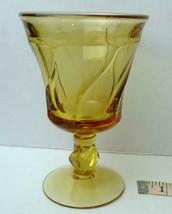 "Fostoria Amber Glass Jamestown Stemware Iced Tea 6"" - $5.94"