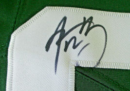 AARON RODGERS / AUTOGRAPHED GREEN BAY PACKERS PRO STYLE FOOTBALL JERSEY / COA image 5