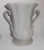 "Red Wing Vase #1357 Gray Grey Vintage 1949 7.5"" - $23.75"