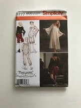 Simplicity 2777 Haunt Couture Costume Sewing Patterin Size R5 14-22 - $9.49