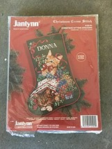 Christmas cross stitch #125-94 Kittens stockings Donna - $67.32