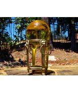 Haunted Angels of the Golden Ray Crystal ball a... - $450.00