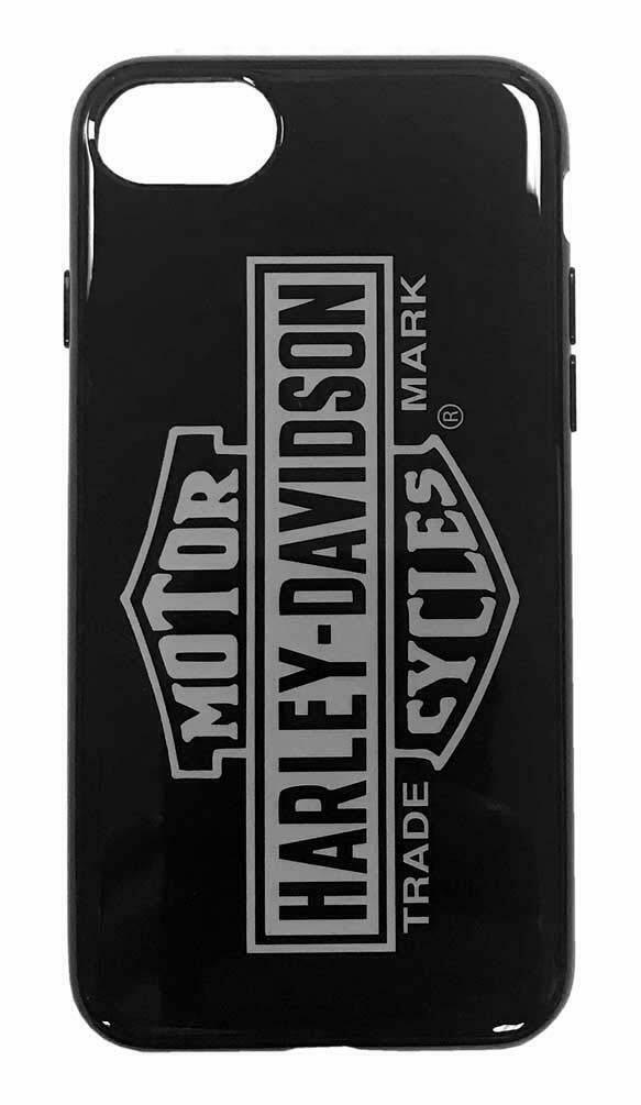 Harley-Davidson Venture Vertical B&S Logo iPhone 7 / 8 Phone Case - Black 9508 image 2