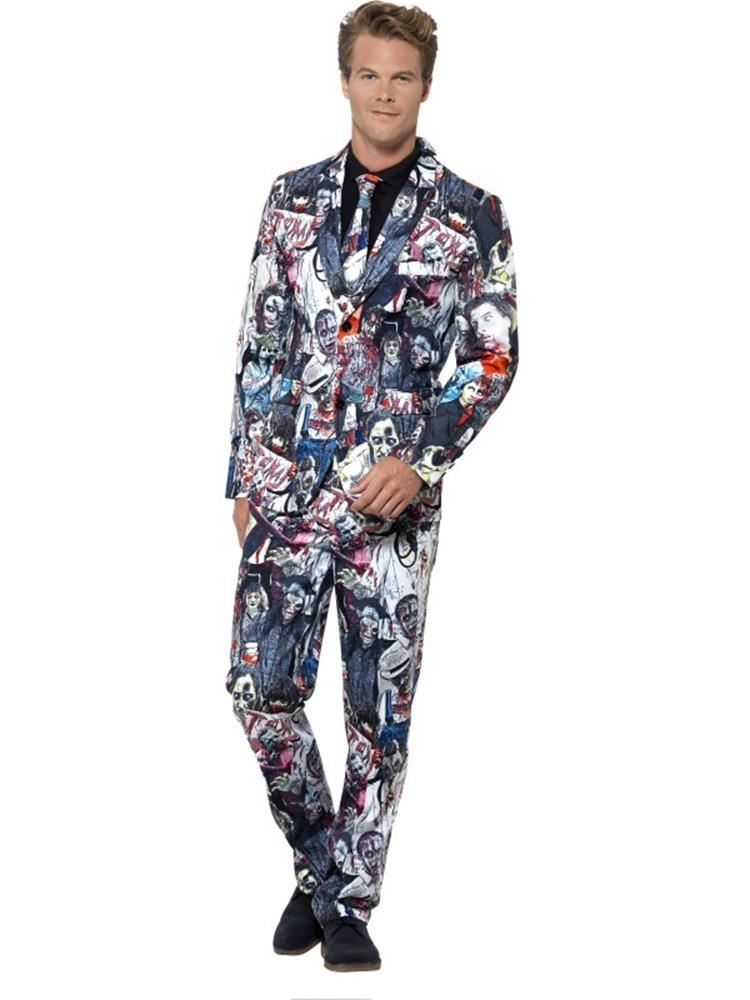 Zombie Suit, XL, Halloween Fancy Dress, Mens