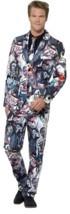 Zombie Suit, XL, Halloween Fancy Dress, Mens - $66.08