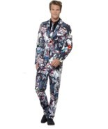 Zombie Suit, XL, Halloween Fancy Dress, Mens - £53.04 GBP