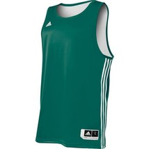 NEW ADIDAS 7667A MEN'S REVERSIBLE PRACTICE JERSEY FORREST/WHITE SIZE X-L... - $19.99