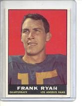 (B-1) 1961 Topps Football #48: Frank Ryan - $8.00
