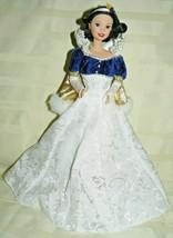 "1998 Disney Holiday Princess Snow White Doll 12"" - $15.50"