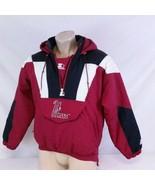 Vintage UMass Starter Pullover Parka Jacket Winter Coat Minutemen NCAA M... - $149.99