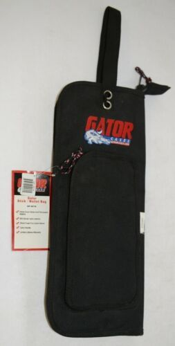 Gator Cases GP007A Black Fur Lined Nylon Drum Stick And Percussion Mallet Case