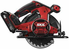 SKIL 20V 6-1/2 Inch Cordless Circular Saw, Includes 2.0Ah PWRCore 20 Lit... - $116.99