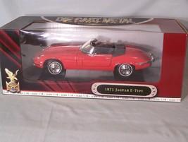 1971 Jaguar E-Type 1:18 scale diecast Road Signature Collection Deluxe Edition - $40.23