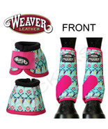 L M S Prodigy Horse Front Neoprene Athletic Sports Bell Boots by Weaver U--P21