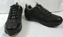 NEW Skechers 76848 Black Mens 11 Shape Ups Work Shoes Sneakers Slip Resi... - $244.29 CAD