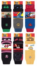 Heat Holders - Mens Ladies Kids Thick Non Slip Character Slipper Socks with Grip - $13.27