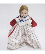 "Vintage Madame Alexander Betsy Ross Doll 8"" Stars and Stripes Blue Cape ... - £11.95 GBP"