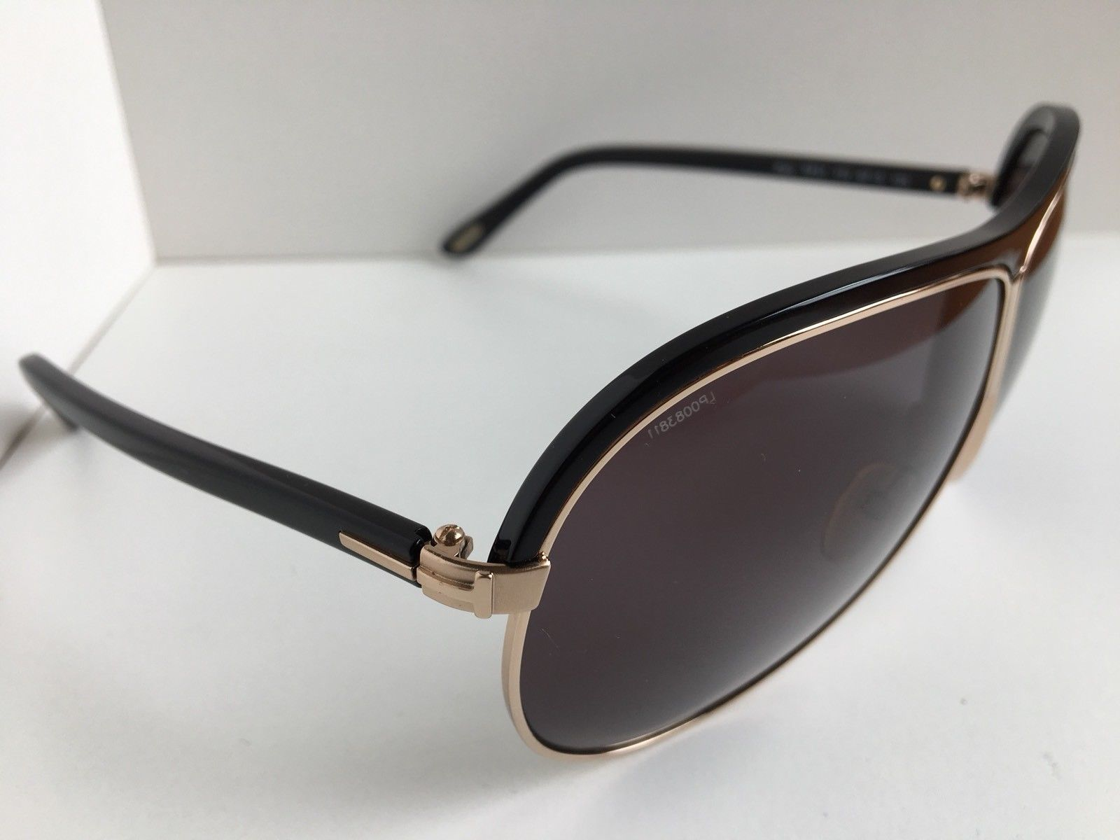 0b1ee0f3eb4 ... Tom Ford Rory TF 51 TF51 772 Black Gold 67mm Sunglasses Italy T1 ...