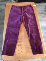 IZOD Mens Courduroy Pants Size 36x30 0009 - $55.44