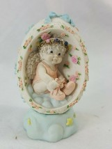 "Dreamsicles Cherub ""Tiny Dancer"" Egg  Figure Kristin 1996 Cast Art Ganz ... - $10.95"