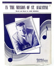In the Mission of St Augustine Sheet Music Piano Voice 1953 Sammy Kaye V... - $7.90