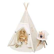RONG FA Top Lace Style Children Playhouse Indian Teepee Tent Kids Play Room - $73.41