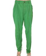 Vintage Levi's 1984 Olympic Volunteer Green Pants Jeans White Tab Womens... - $23.41