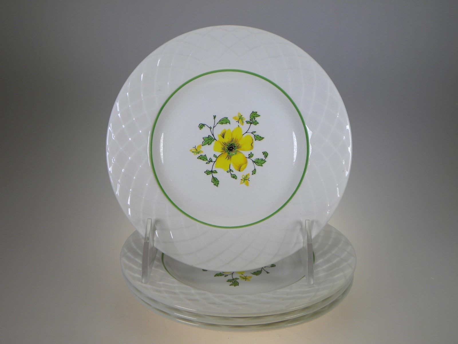 Enoch Wedgwood Jacqueline Bread & Butter Plates Set of 4