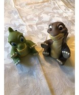 VINTAGE 1988 Land Before Time Little foot Dinosaur Dolls Universal Pictures - $24.74