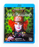Alice in Wonderland 3D (Blu-Ray DVD, 2010) - Johnny Depp, Tim Burton - $10.00