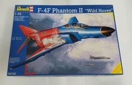 """REVELL 1:32 McDonnell F-4  Phantom II """"WILD HORSE"""" Plastic Model  04706 ... - $118.80"""