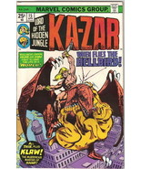 Ka-Zar Lord of the Hidden Jungle Comic Book #15 Marvel Comics 1976 VERY ... - $4.99