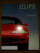 "1995 Mitsubishi Eclipse 16 Pg Sales Brochure Original Mint 8.5"" X 11"" - $14.80"