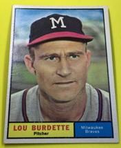 Lou Burdette 1961 Topps 320 - $2.96