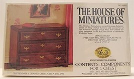 The House Of Miniatures Chippendale Drawer Chest 40011 New Doll house Fu... - $12.86