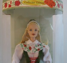 Swedish Barbie Doll 1999 Dolls of the World 20th Anniversary DOTW NRFB - $26.99