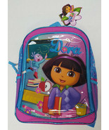 "DORA The Explorer Back To School 16"" Book Bag School Supplies Kids Backpack - $15.99"