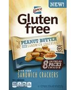 Lance Gluten Free Sandwich Crackers, Peanut Butter, On the Go Packs 8 Co... - $44.24