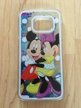 Mickey & Minnie Mouse Sparkle Liquid Glitter Quicksand Case For Galaxy S7 Edge - $13.99